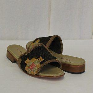 Artemis Design Co. X Madewell Kilim Sandals 37 New